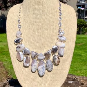 NEW! Dendritic Opal Necklace